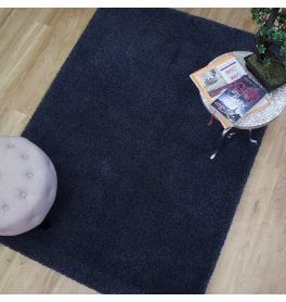 Washable Rugs Cosy Dark Blue