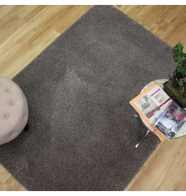Washable Rugs Cosy Grey