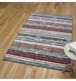 Woodstock Rug 6268 Cherry Blue