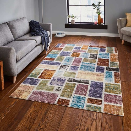 16th Avenue Rug 37A Multi Colour