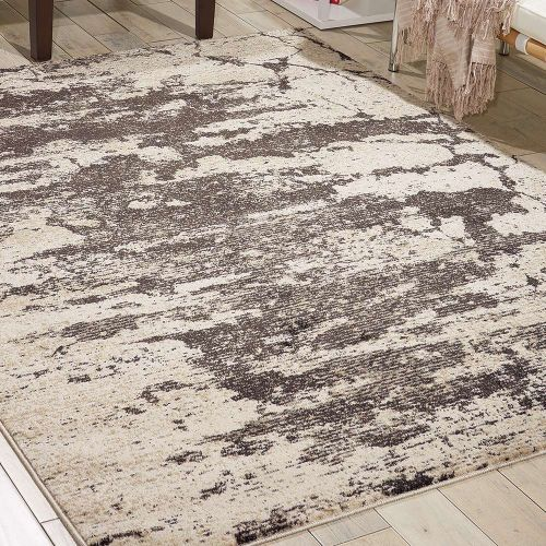 Abstract Maxell Rug MAE07 Ivory Grey