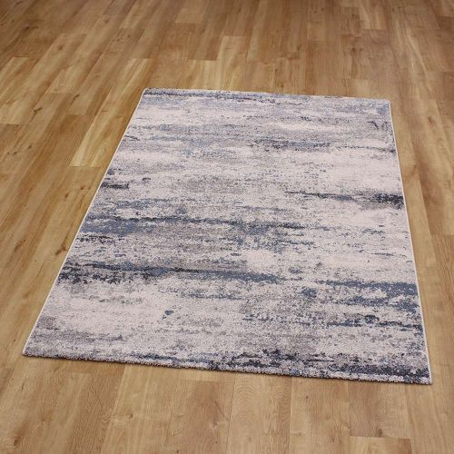 Abstract Rug Liberty Blue Grey 26 6151