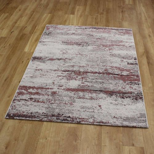 Abstract Rug Liberty Pink Grey 26 6111