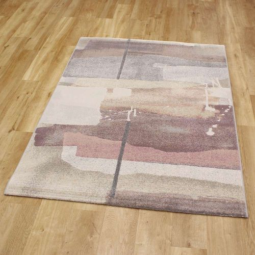 Abstract Rug Pastel Pink Galleria 696 4747