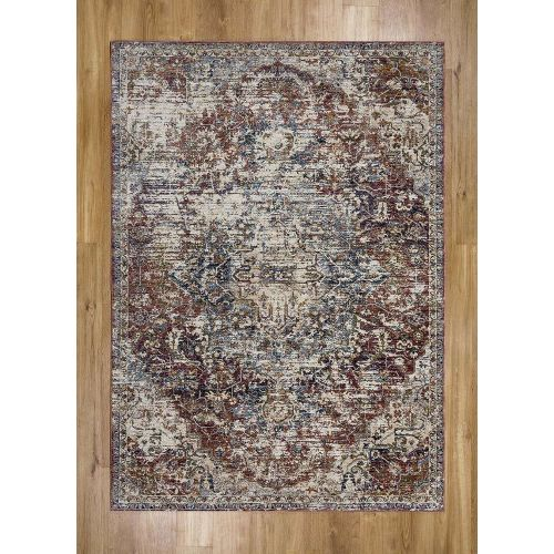 Alhambra Rug Antique Red 6504B