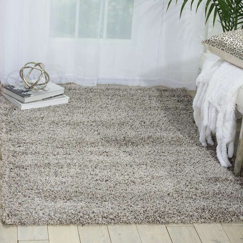 Amore Light Grey Shaggy Rug