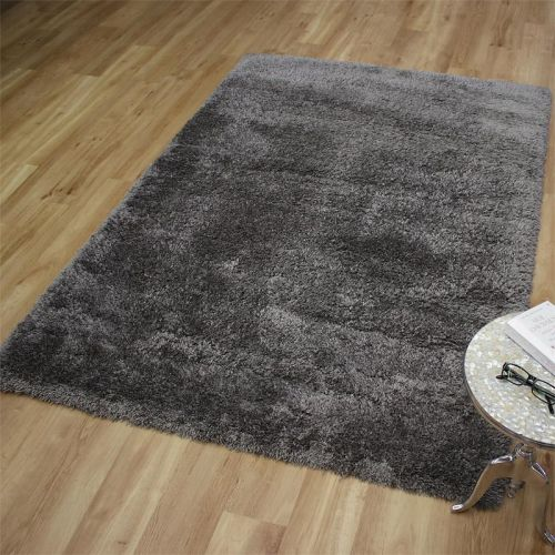 Angora Shaggy Rug Grey