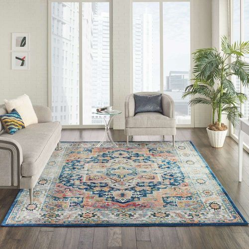 Persian Ankara Global ANR11 Blue Multi Rug