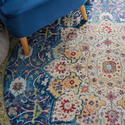 Ankara Global Rug ANR03 Oushak Blue