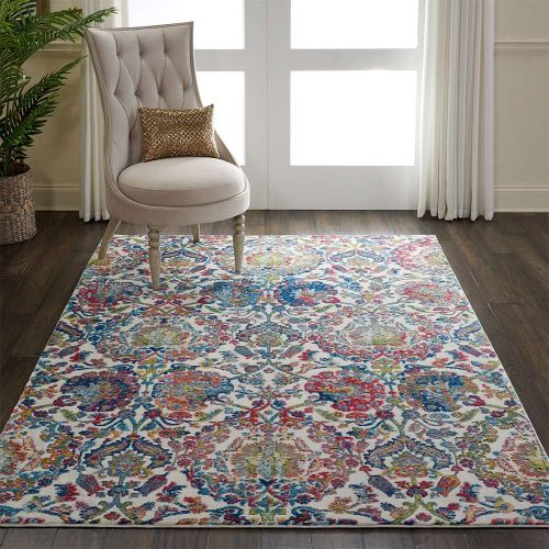Ankara Global Rug ANR06 Vintage Ivory Blue