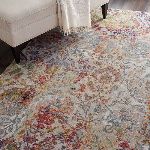 Ankara Global Rug ANR06 Vintage Ivory Orange
