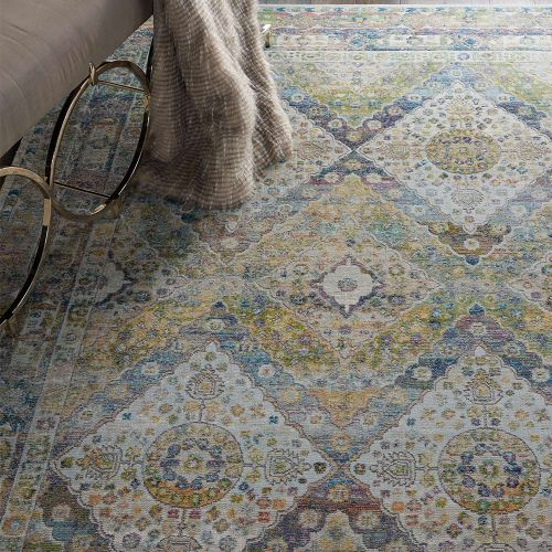 Ankara Global Rug ANR07 Persian Blue Green