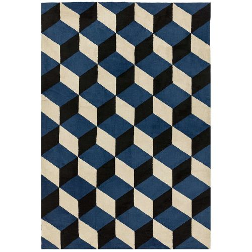Arlo Rug AR11 Blue Block