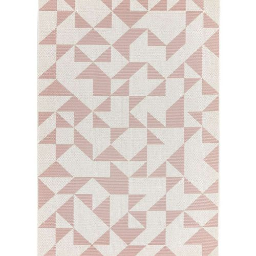 Patio 14 Pink Flag Rug