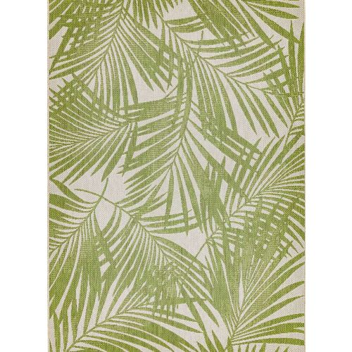 Patio 15 Green Palm Rug