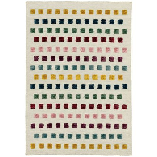 Theo Jewel Squares Rug