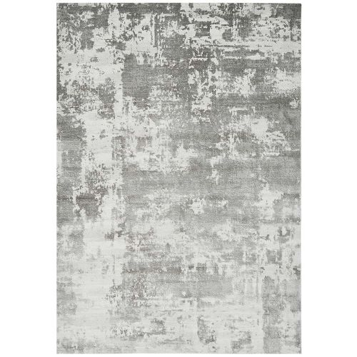Astral Rug AS07 Silver 3D Abstract Style