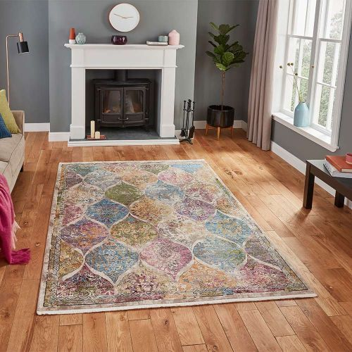Athena 24021 Traditional Multi Coloured Rug