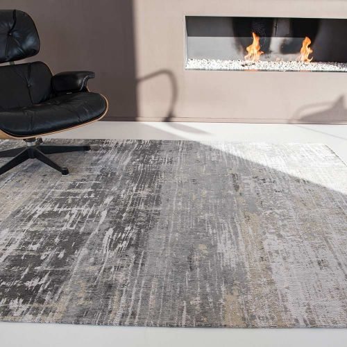 Atlantic Streaks Rug 8716 Coney Grey