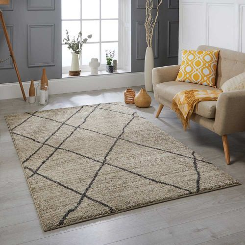 Atlas 561 J Cream Tribal Rug 120x170cm