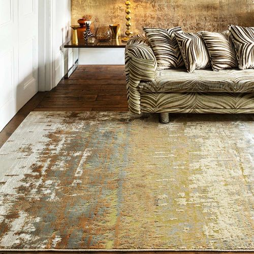 Aurora Rug AU01 Dune Silky Abstract