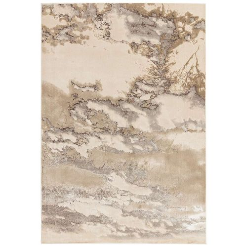 Aurora Rug AU02 Cloud Silky Abstract