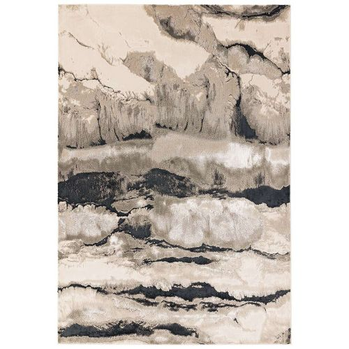 Aurora Rug AU05 Quartz Silky Abstract