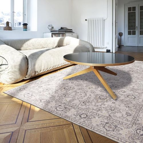 Bobo Flowers rug 8912 Woodstock White