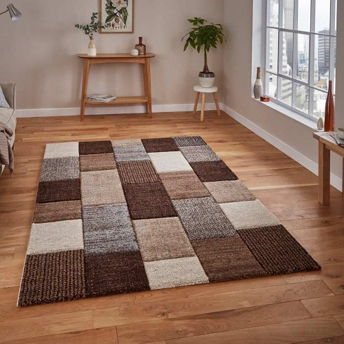 Brooklyn Rug 21830 Beige Brown Grey