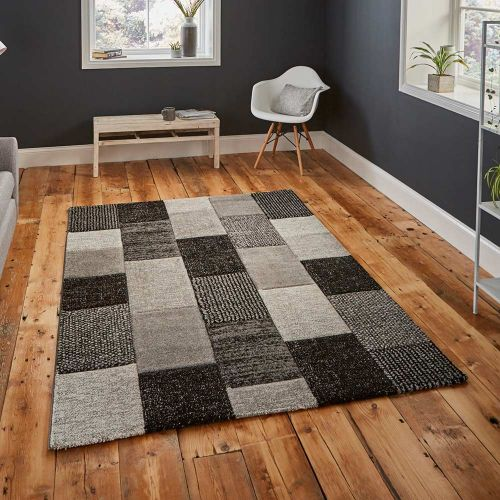 Brooklyn Rug 21830 Grey Black