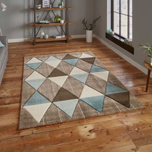 Brooklyn Rug 21896 Beige Blue
