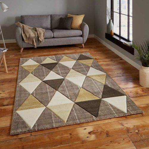 Brooklyn Rug 21896 Beige Yellow