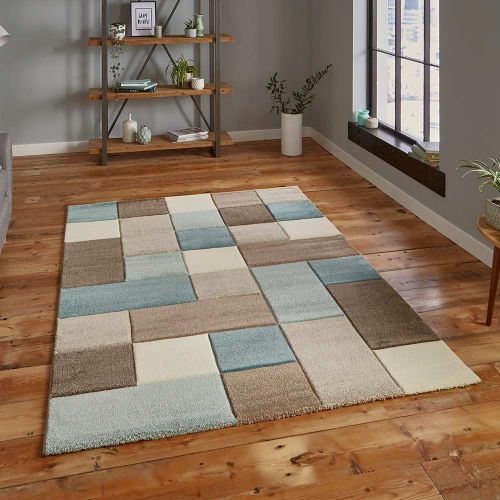 Brooklyn Rug 646 Beige Blue