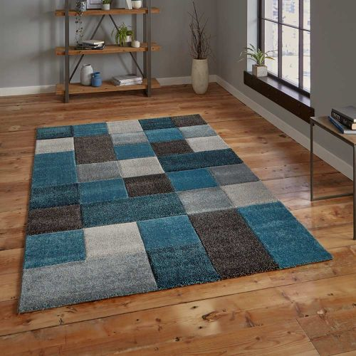 Brooklyn Rug 646 Blue Grey