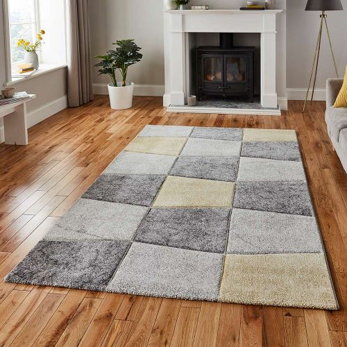 Brooklyn Rug 22192 Grey Yellow