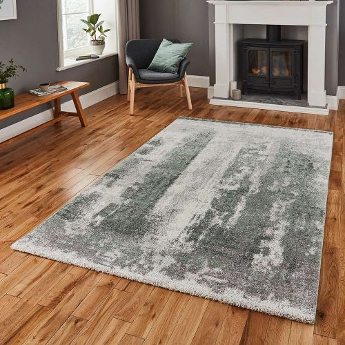 Brooklyn Rug 8595 Ivory Grey Green