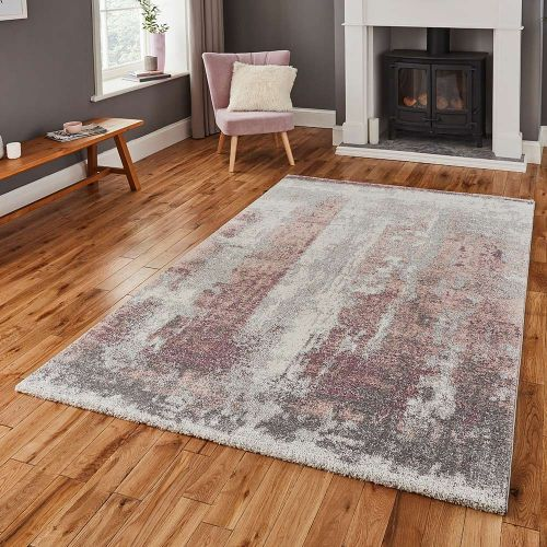 Brooklyn Rug 8595 Ivory Grey Rose
