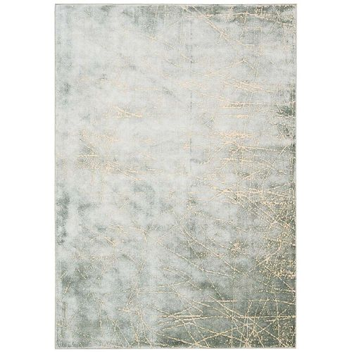 Calvin Klein Rug Maya Etched Light Mercury