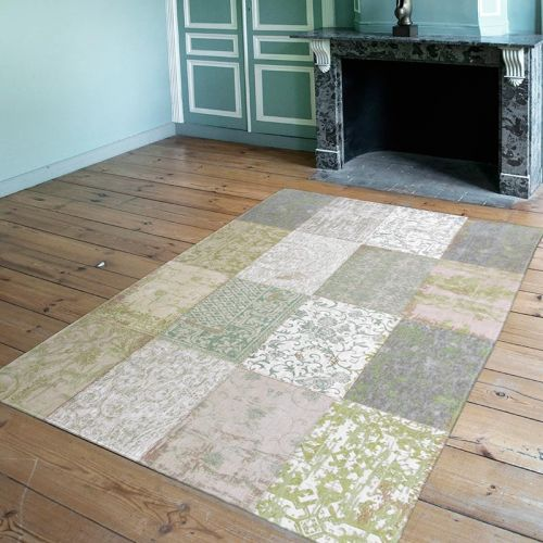 On Sale Cameo Medium Rug Multi 8240 Pale Pistachio 140x200cm