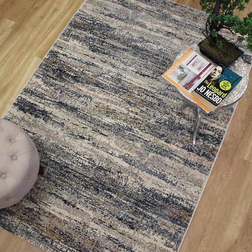 Canyon Rug Blue Grey Sand 52008 7272
