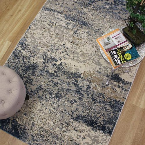 Canyon Rug Blue Grey Sand 52014 7272 133x195cm