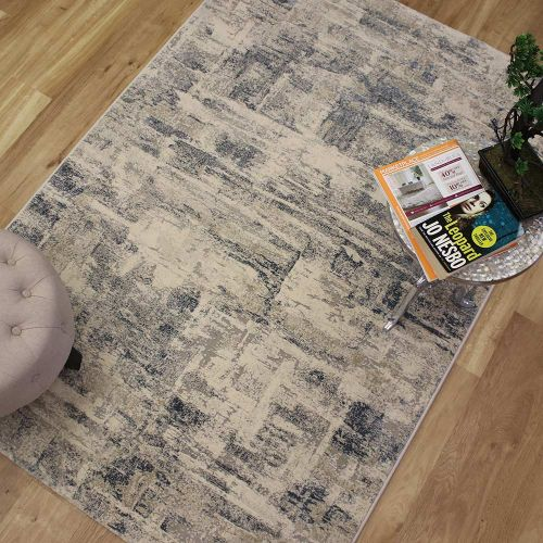 On Sale Canyon Medium Rug Bone Grey Blue 52013 5252 160x230cm