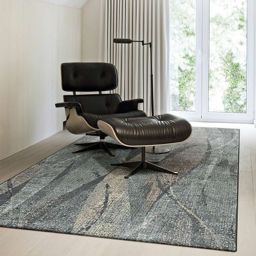 Canyon Rug Green Charcoal Multi 3535