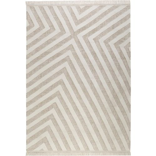 Carpets & Co Edgy Corners Beige Rug