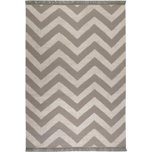 Carpets & Co Zig-Zag Grey-Beige Rug