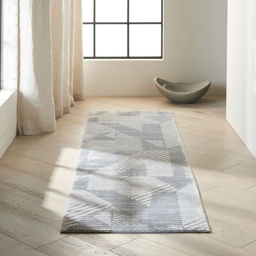 Calvin Klein CK850 Grey Light Blue Orlando Rug