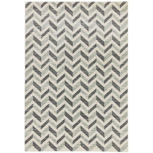 Colt Rug CL07 Chevron Grey