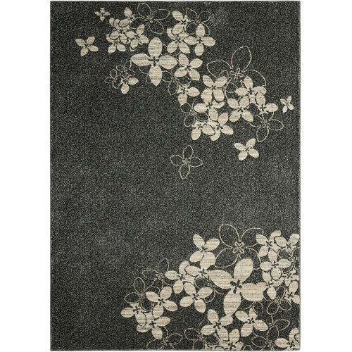 Contemporary Maxell Rug MAE02 Charcoal