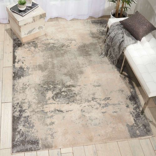 Contemporary Maxell Rug MAE13 Ivory Grey