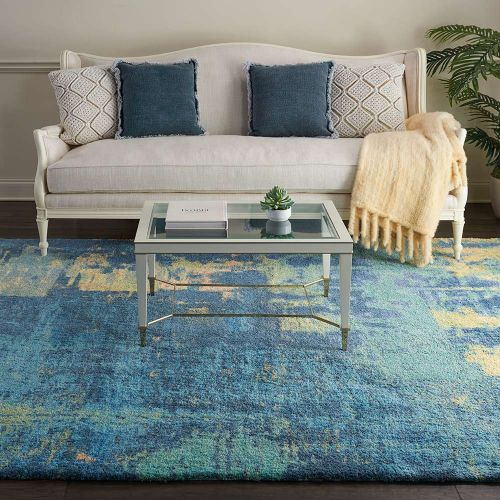 Abstract CORSICA Shag CRC03 Multi Rug